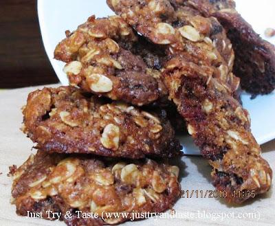 Resep Cookies Oatmeal dan Kurma JTT