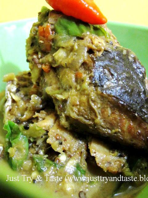 Resep Mangut Ikan Pe (Pari) Asap