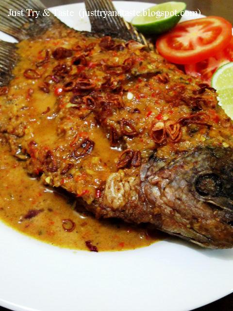 Resep Pecak Ikan Gurame JTT