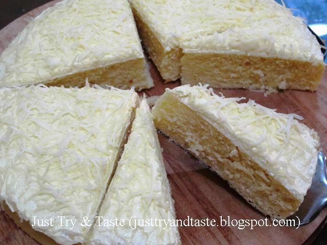 Resep Cake Kukus Tanpa Mixer Jtt: Resep Cake Kukus Keju Lemon