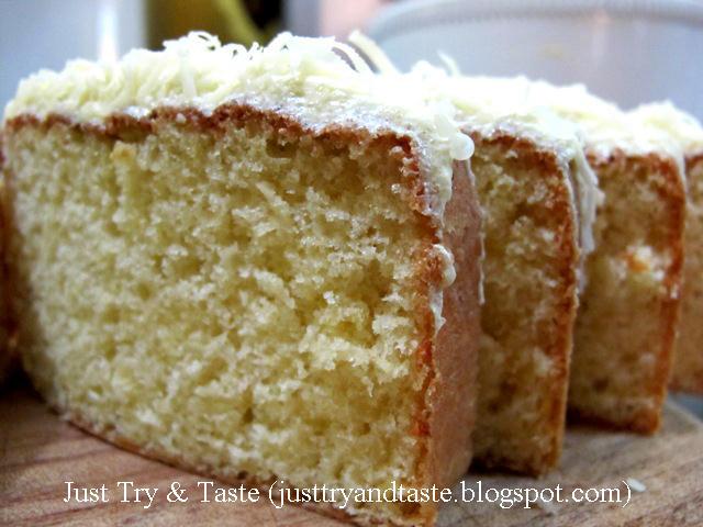 Resep Kue Bangkit Jtt: Resep Cake Keju Lemon
