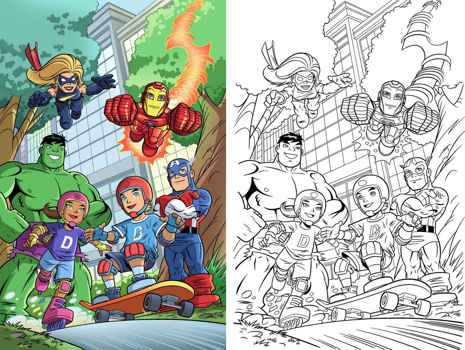 Super Hero The Super Hero Squad Show Games