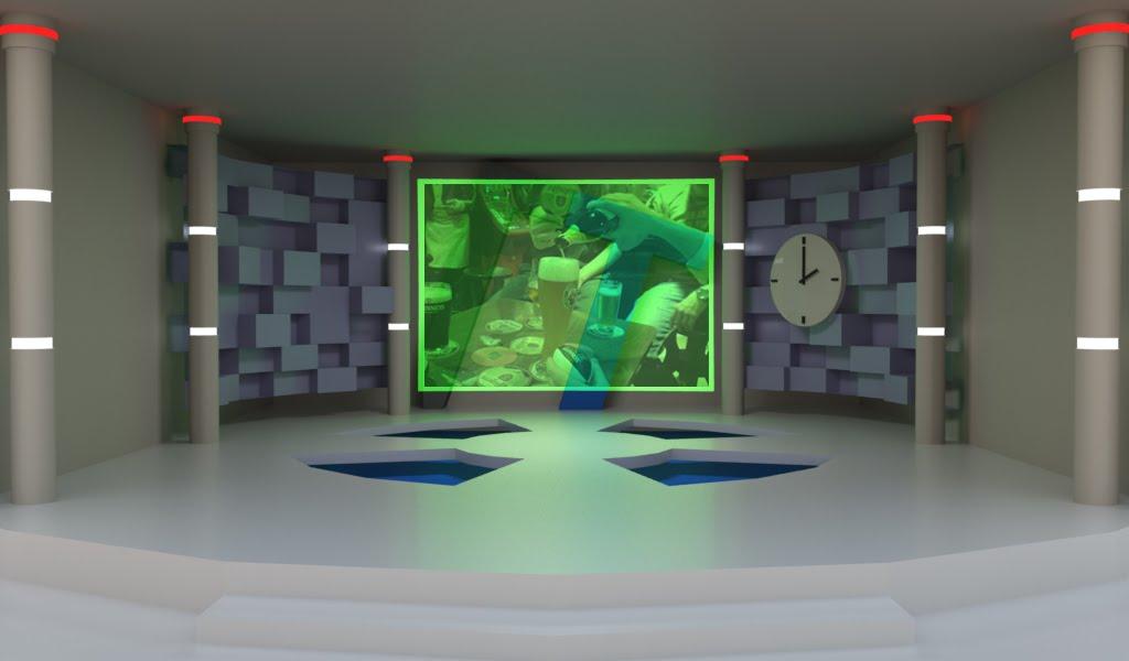 En la cabina de radio - 3 1