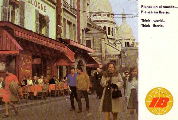 Calendario Del Ano 1969.Memoria De Papel Iberia Ano 1969 Calendario De 1970