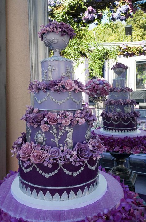 colin cowie wedding cakes ariel yve design wednesday inspiration purple colin 12897