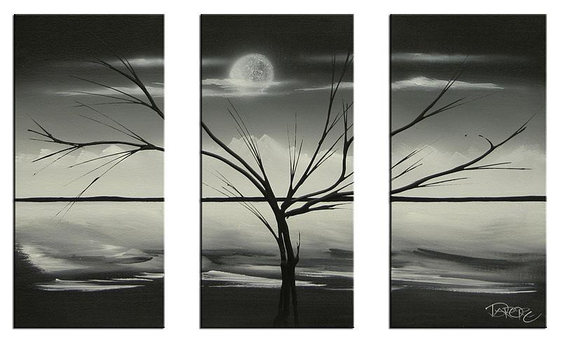 November 2009 ~ Black white art painting