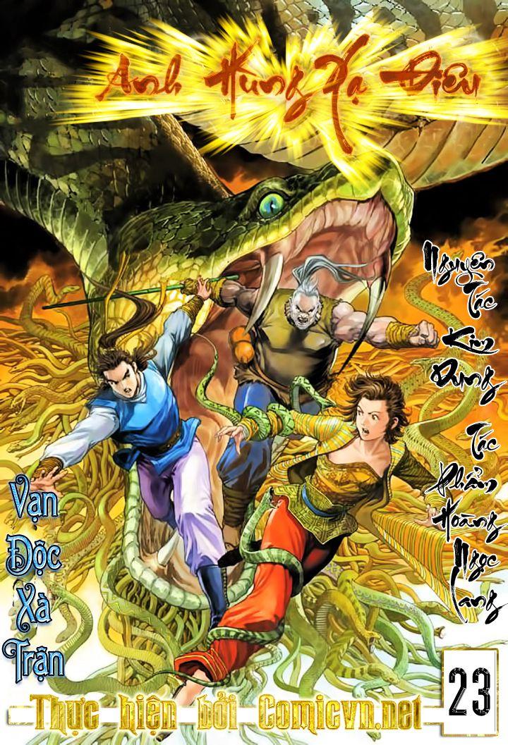 Anh Hùng Xạ Điêu anh hùng xạ đêu chap 23 trang 1