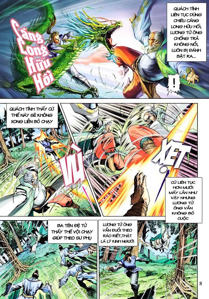 Anh Hùng Xạ Điêu anh hùng xạ đêu chap 23 trang 8