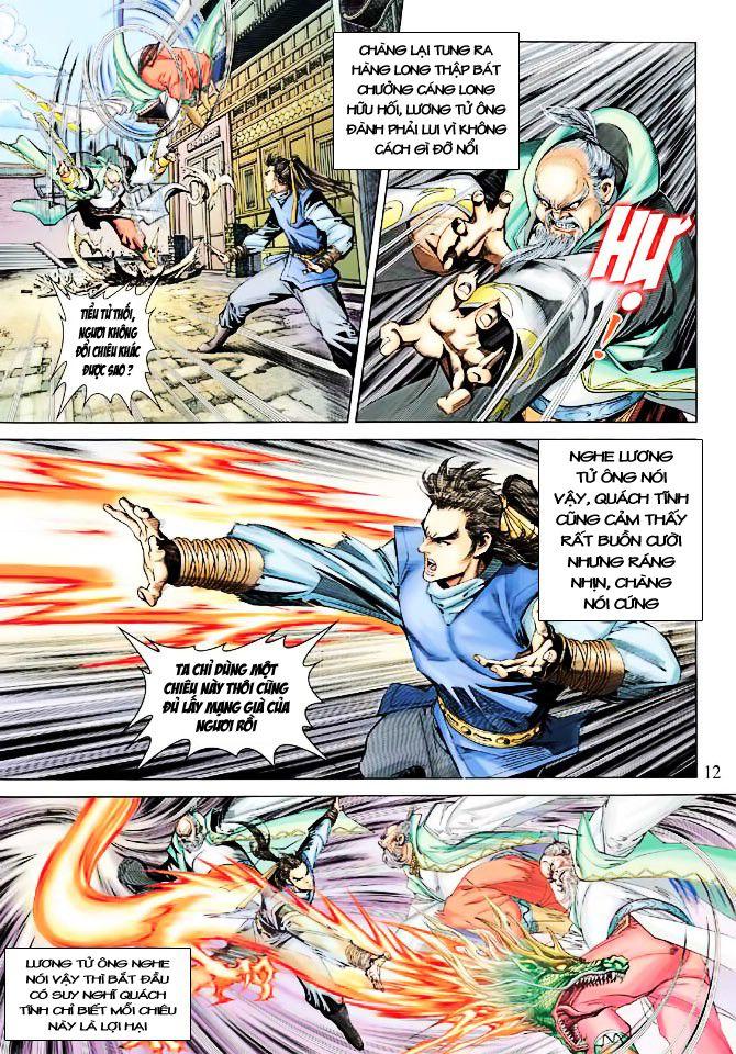 Anh Hùng Xạ Điêu anh hùng xạ đêu chap 23 trang 12