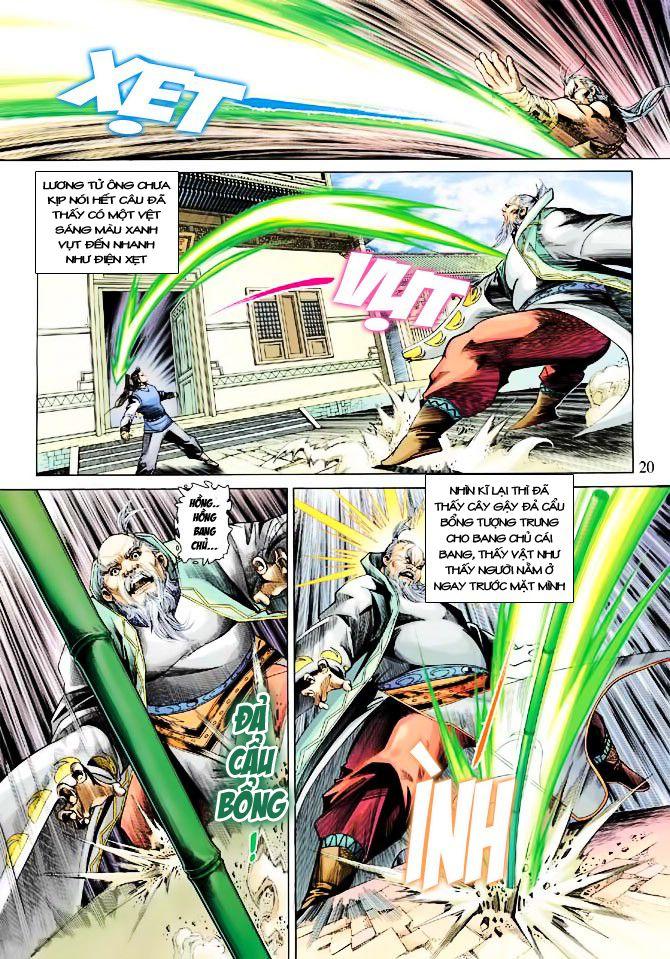 Anh Hùng Xạ Điêu anh hùng xạ đêu chap 23 trang 20