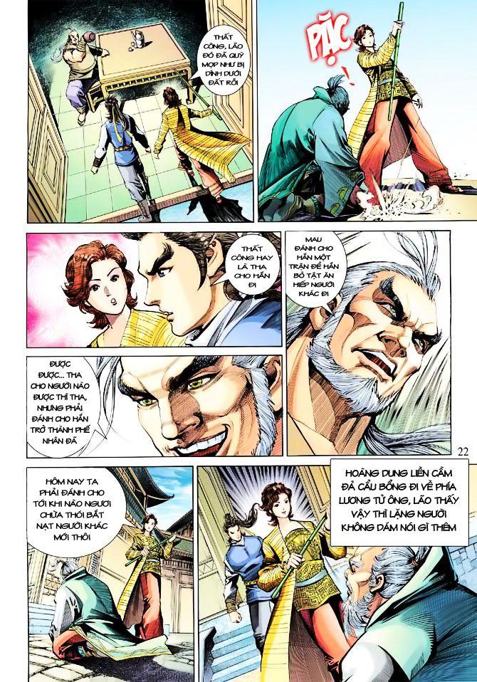 Anh Hùng Xạ Điêu anh hùng xạ đêu chap 23 trang 22