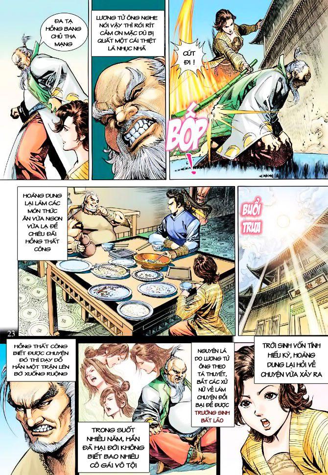 Anh Hùng Xạ Điêu anh hùng xạ đêu chap 23 trang 23