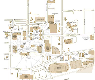 Illinois College Campus Map.The Intrepid College Advisor Wheaton College