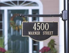 Qualified home address plagues.