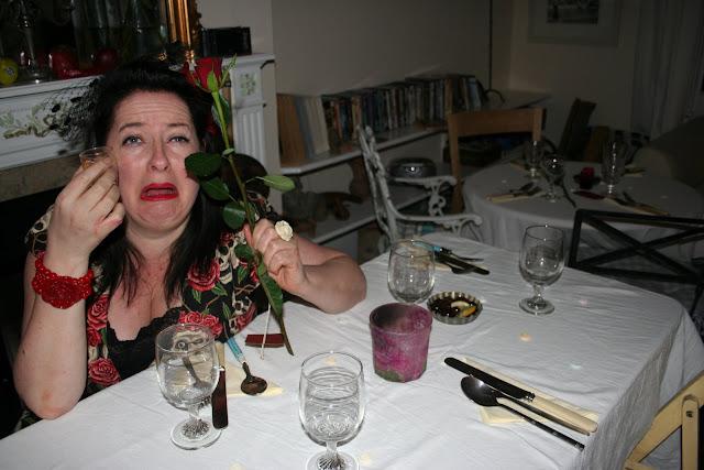 valentine's day at the underground restaurant