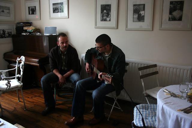 Tinderflint tuning up... living room concerts