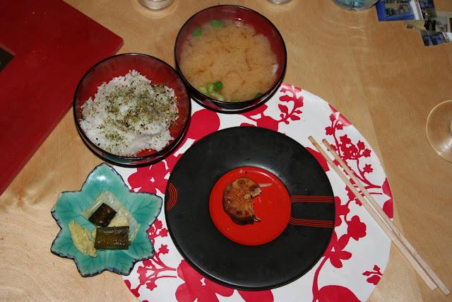 Sushi and miso at Horton Jupiter's supperclub