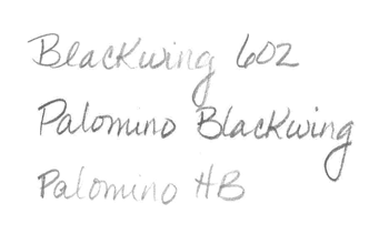 Timberlines: Reviving the Blackwing: Graphite Performance