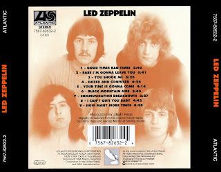 Musicotherapia Led Zeppelin I 1969