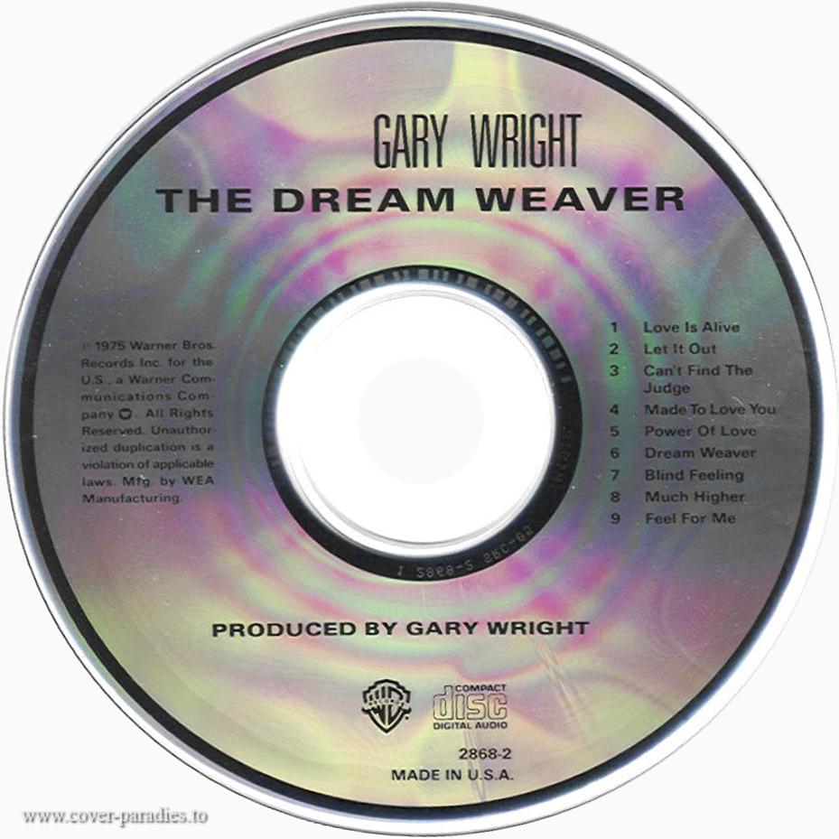 Musicotherapia Gary Wright The Dream Weaver 1975