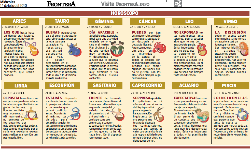 Horoscopo De Hoy Univision | horoscopo diario tauro