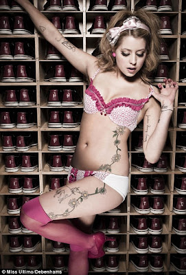 Peaches Geldof Strips For Sizzling Hot Unnderwear Shoot