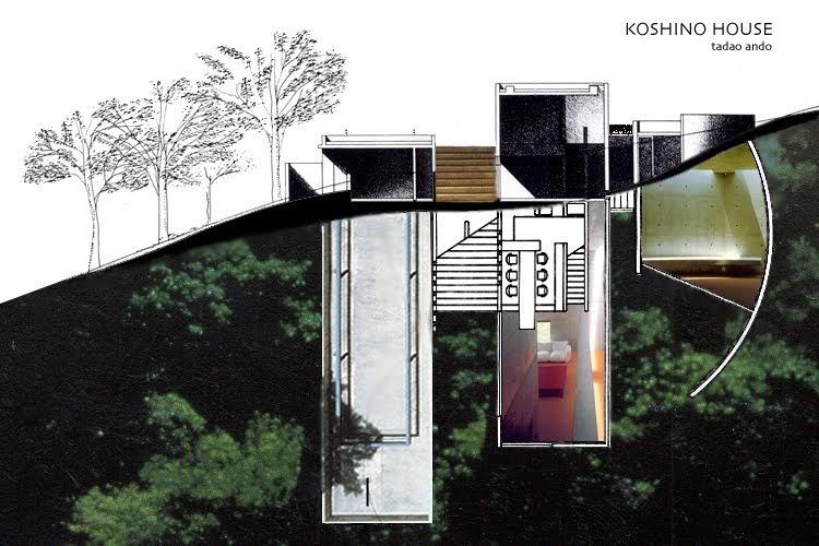 Tadao Ando  Igreja da Luz Casa Koshino19791981 19831984 Ashiya Japo