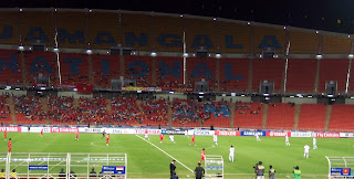 Kick off between Iraq and Vietnam