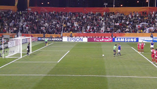 Honda steps up to the penalty spot