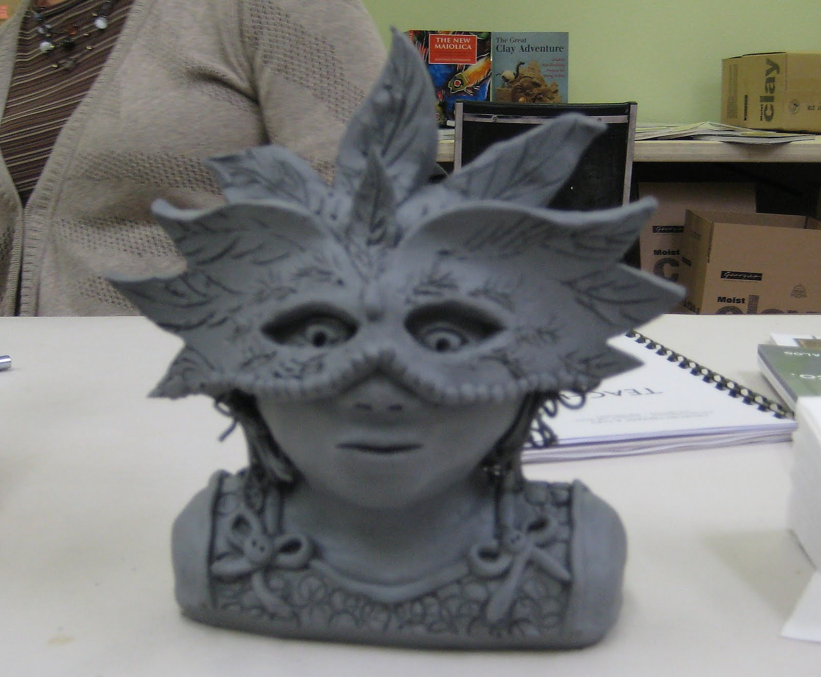 clay mask designs. best homemade mask designs ideas and images on