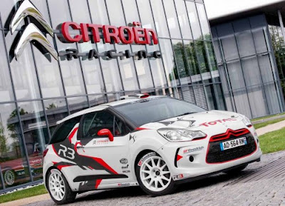 modification auto cars: Citroen DS3 R3 Racing World Rally