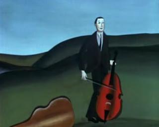 Risultati immagini per la demoiselle et le violoncelliste (1965)