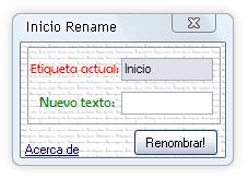 Inicio Rename
