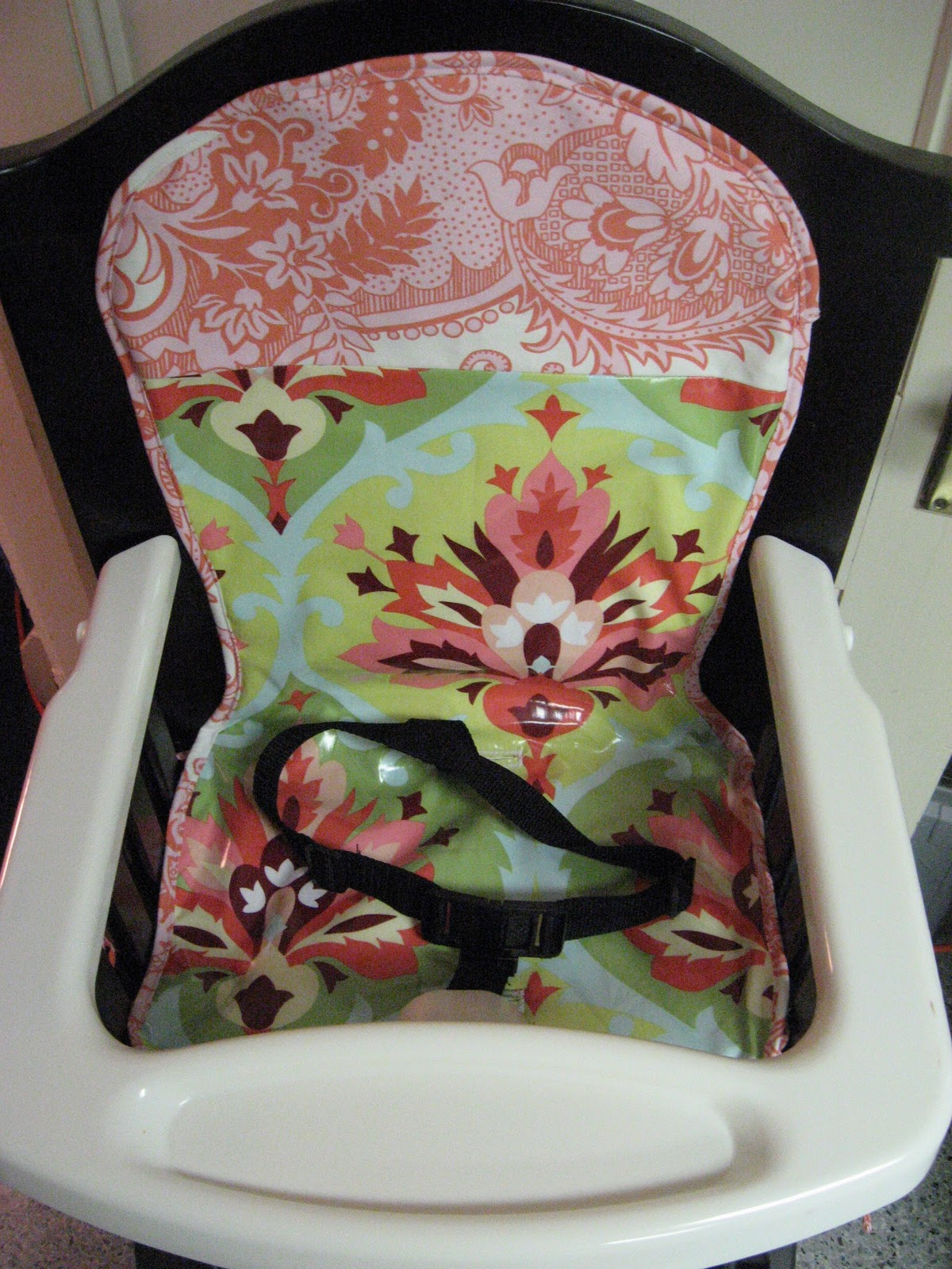 Eddie Bauer High Chair Cover Pattern Stool Guest Project Transform Your From Blah To