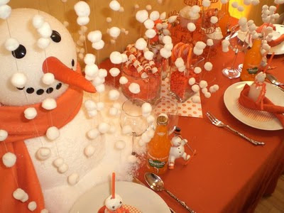 christmas craft party ideas snowman theme oh my creative 3589