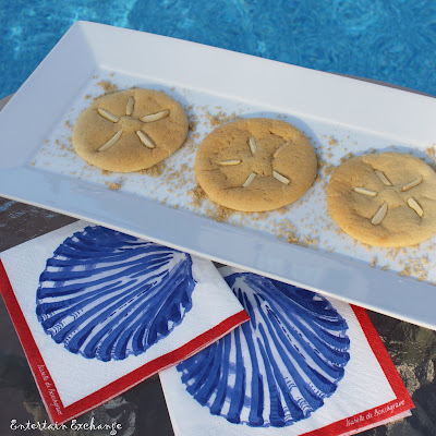Sand Dollar Cookies | OHMY-CREATIVE.COM