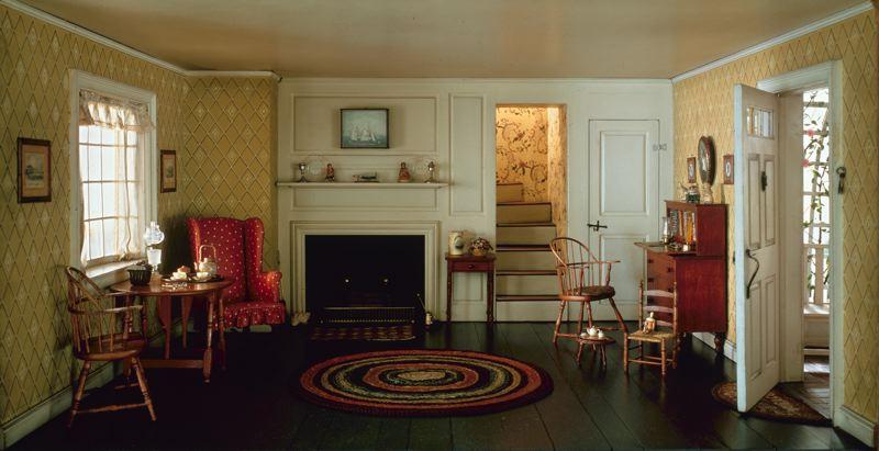 Meet Me in Philadelphia: Interiors at 1:12 Scale