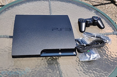 Sasha's Hip Hop Obsession: PS3 Slim sized up: smaller, deeper, no