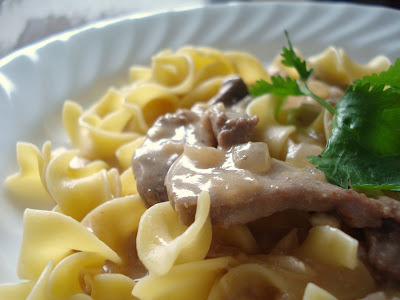 Beef Stroganoff I One Lovely Life