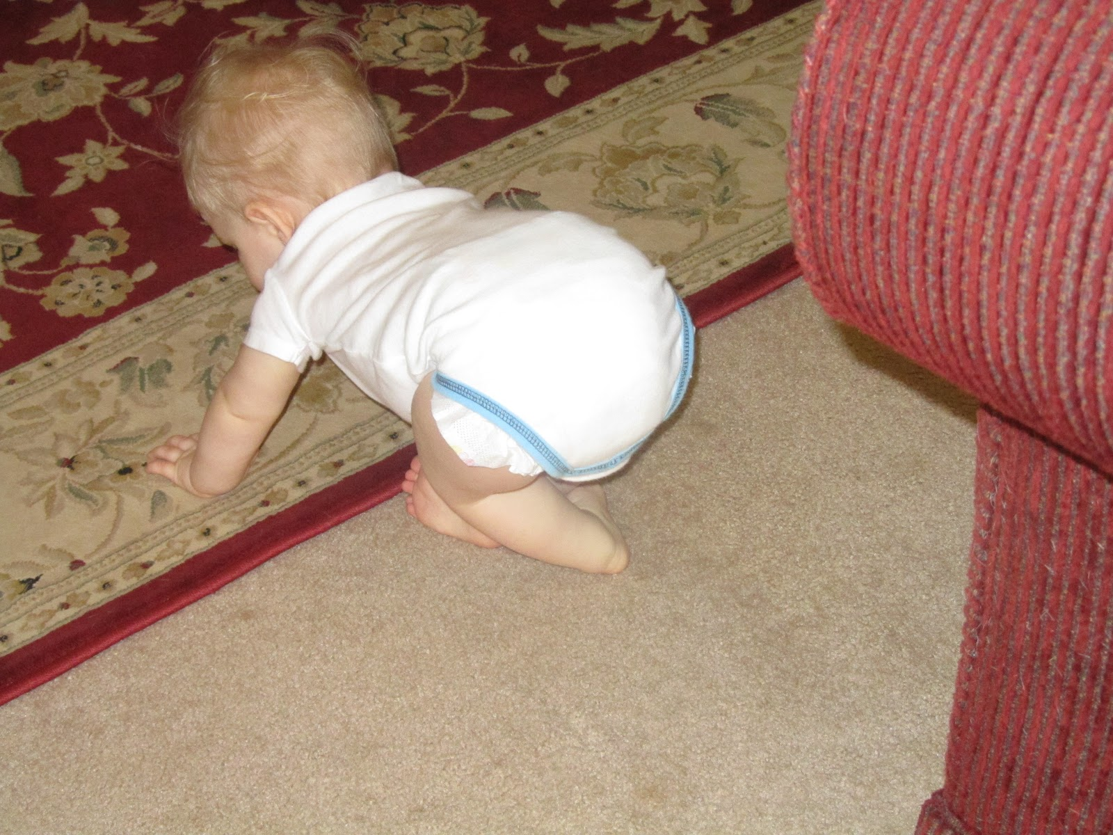 Baby Black's Blog: 32 Weeks - talk and crawling, oh my!