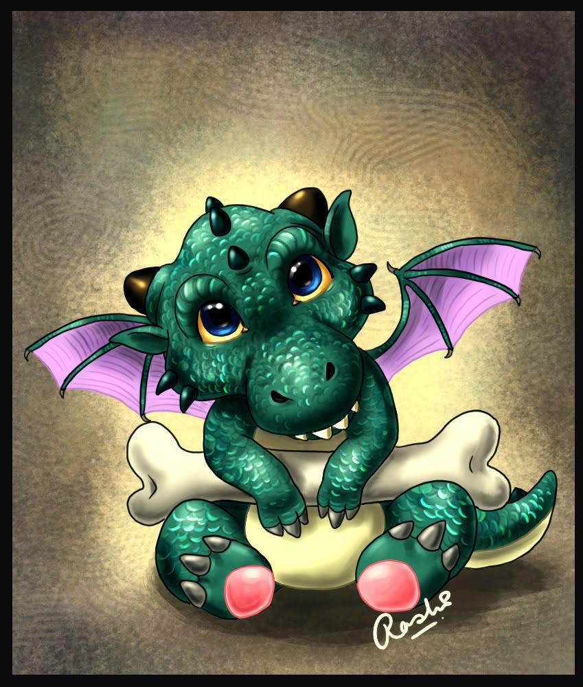 Rashi's Sketchblog: Baby Dragon