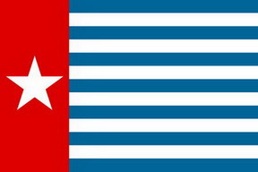 bendera papua barat