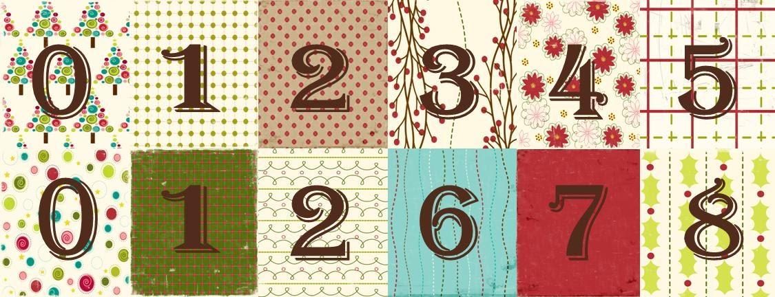 BabsMadeIt: Printable Christmas Countdown Blocks With Tutorial