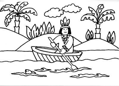 Imagenes Indigenas Venezolanos Para Colorear Newletterjdico
