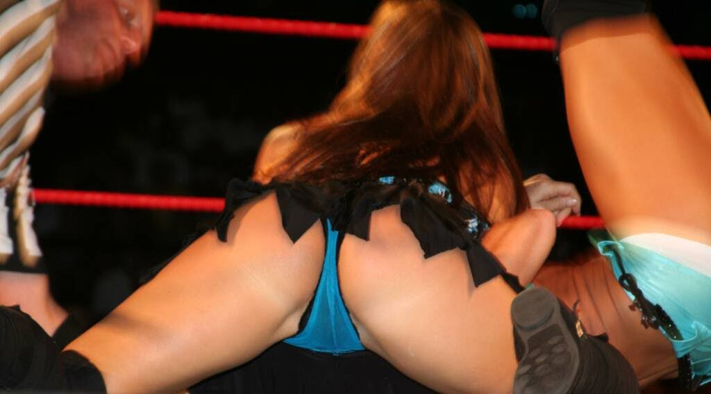 michelle slip pussy candice wwe