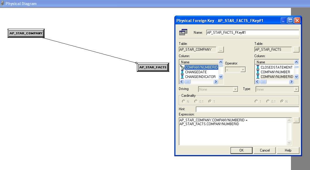 how to find physical joins in obiee