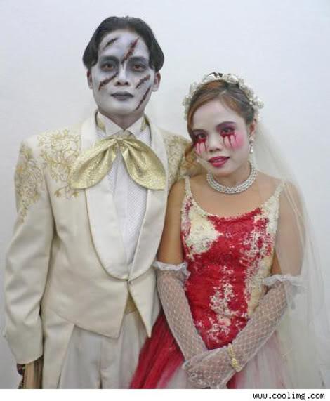 Weddingzilla: More Weird Strange Wedding Pictures
