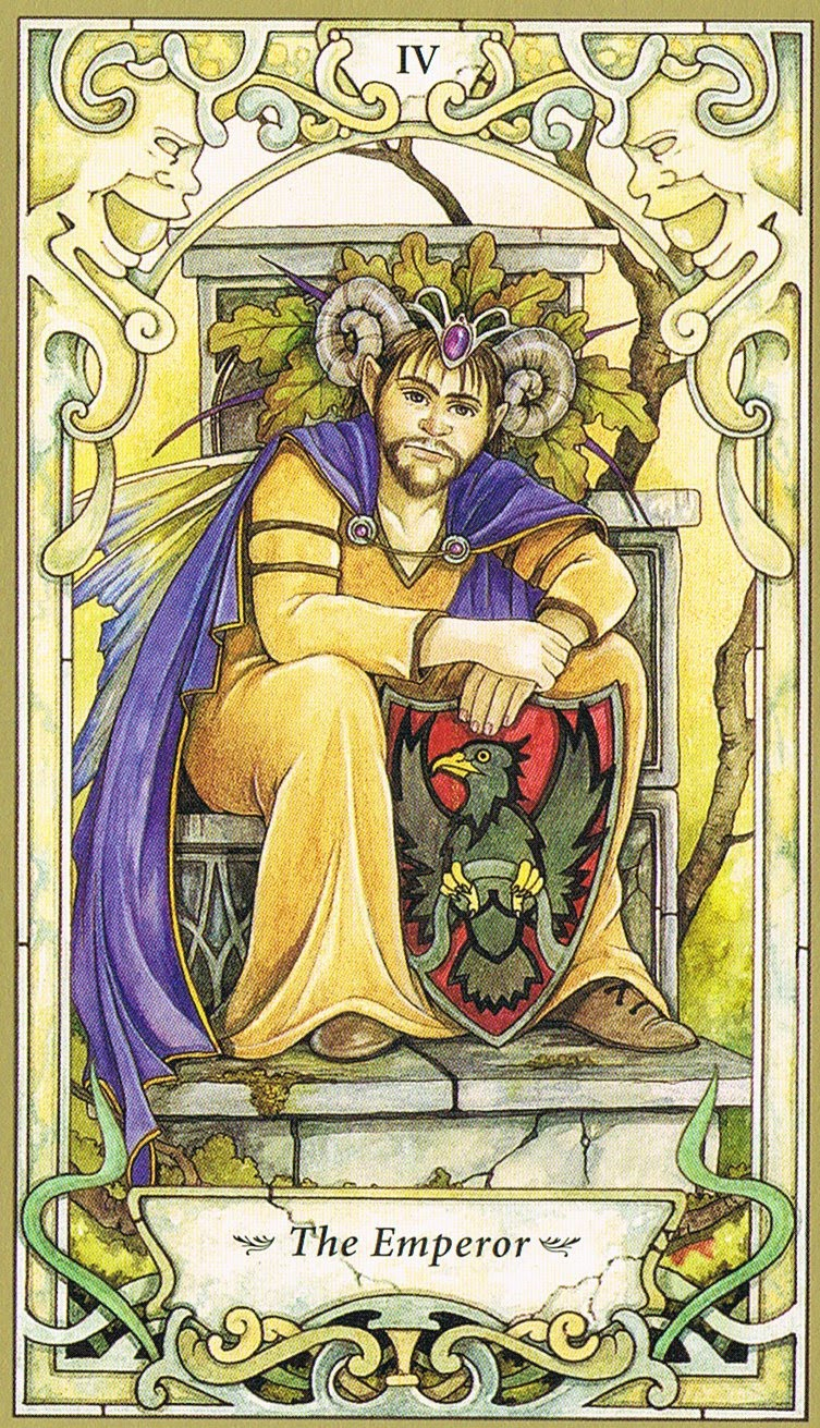 Mystic Faerie Tarot The World: The Emperor, Emperor And Mystic On Pinterest