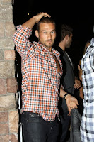 Andy Whitfield at Spanish Kitchen in LA