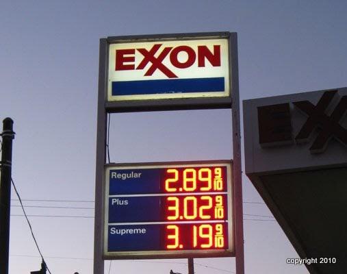 Hla Enterprises Custom Signs Digital Fuel Price Sign